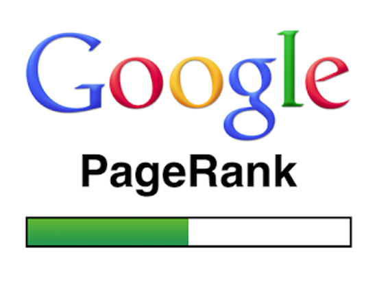 page rank of the website