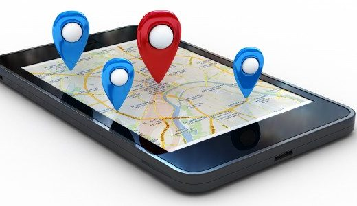 Locate the lost mobile with geolocalisation