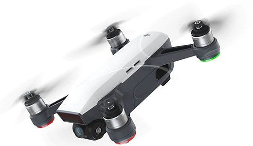 Drone pilot can see the things easily by flying even at the night time